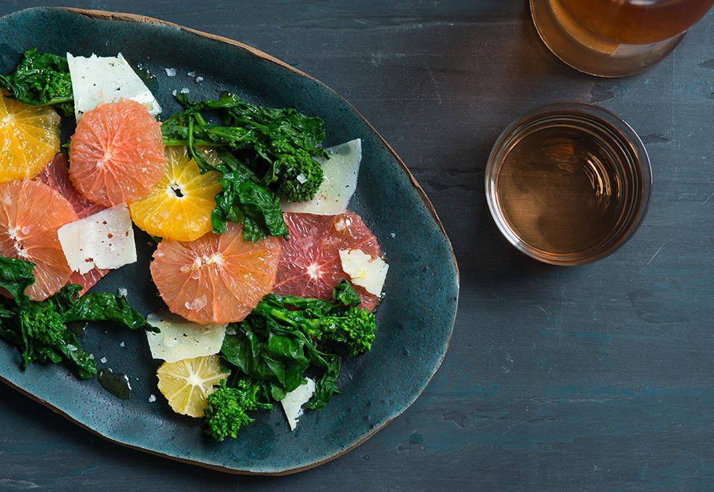 Broccoli Rabe and Citrus Salad