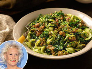 Anne-Burrell-BroccoliRabe-Sausage
