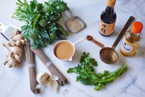 preparing-broccoli-rabe-peanut-soba-noodles-andyboy