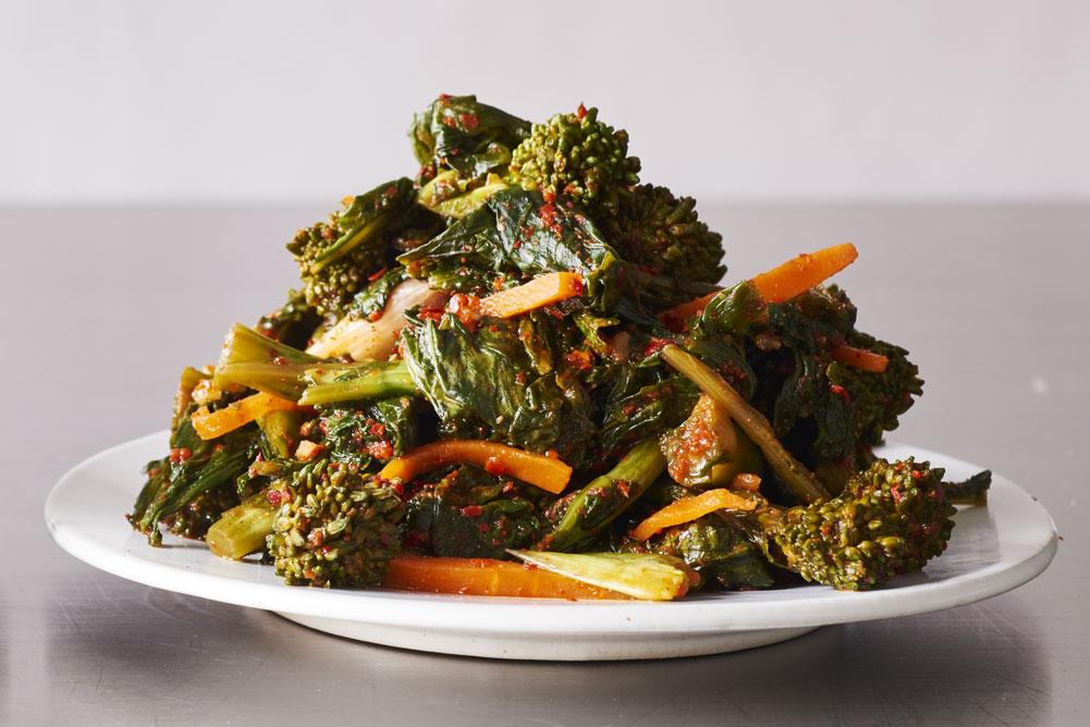 Broccoli Rabe Kimchi