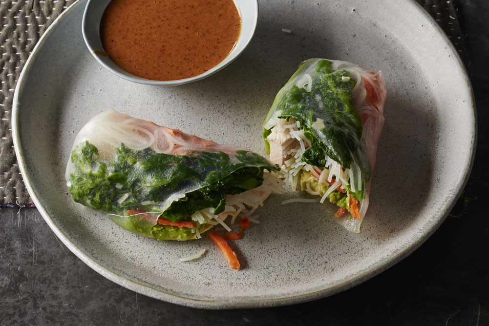 Broccoli Rabe Summer Rolls