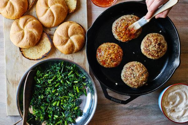 Broccoli-Rabe-Chicken-Burger-Prep-andy-boy