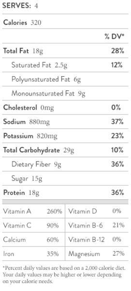 nutritional-facts-tofu-chop-salad-broccoli-rabe
