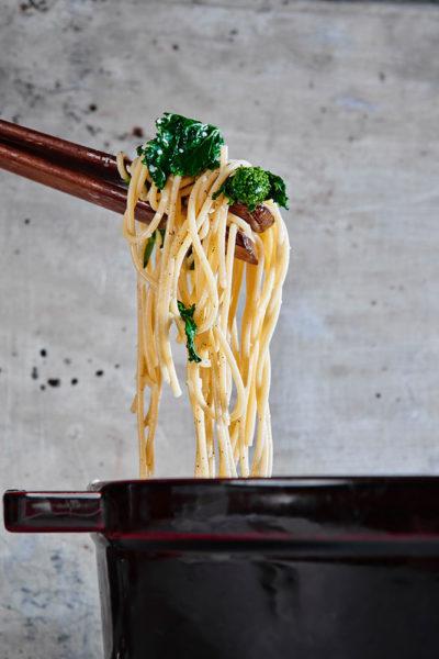 cacio-e-pepe-broccoli-rabe-process
