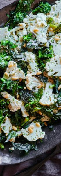 broccoli-rabe-crunchy-cauliflower-lemon-tahini-andy-boy