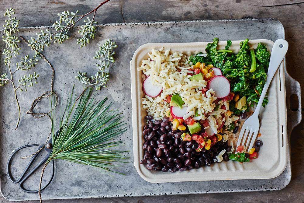 Chipotle Broccoli Rabe Burrito Bowls