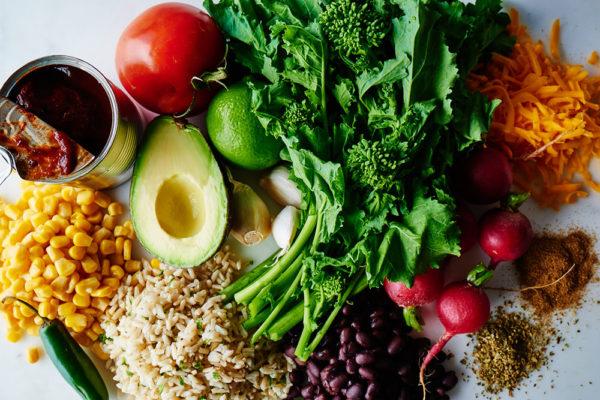 ingredients-broccoli-rabe-burrito-bowl