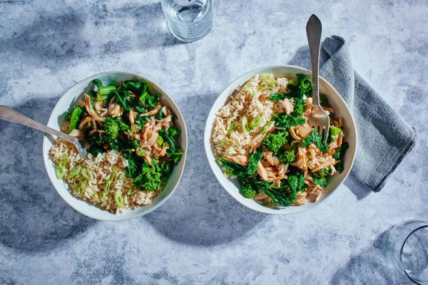 slow-cooker-chicken-teriyaki-broccoli-rabe