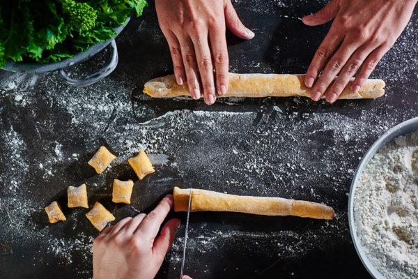 sweet-potato-gnocchi-broccoli-rabe-process
