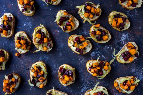 beet-fennel-sweet-potato-crostini