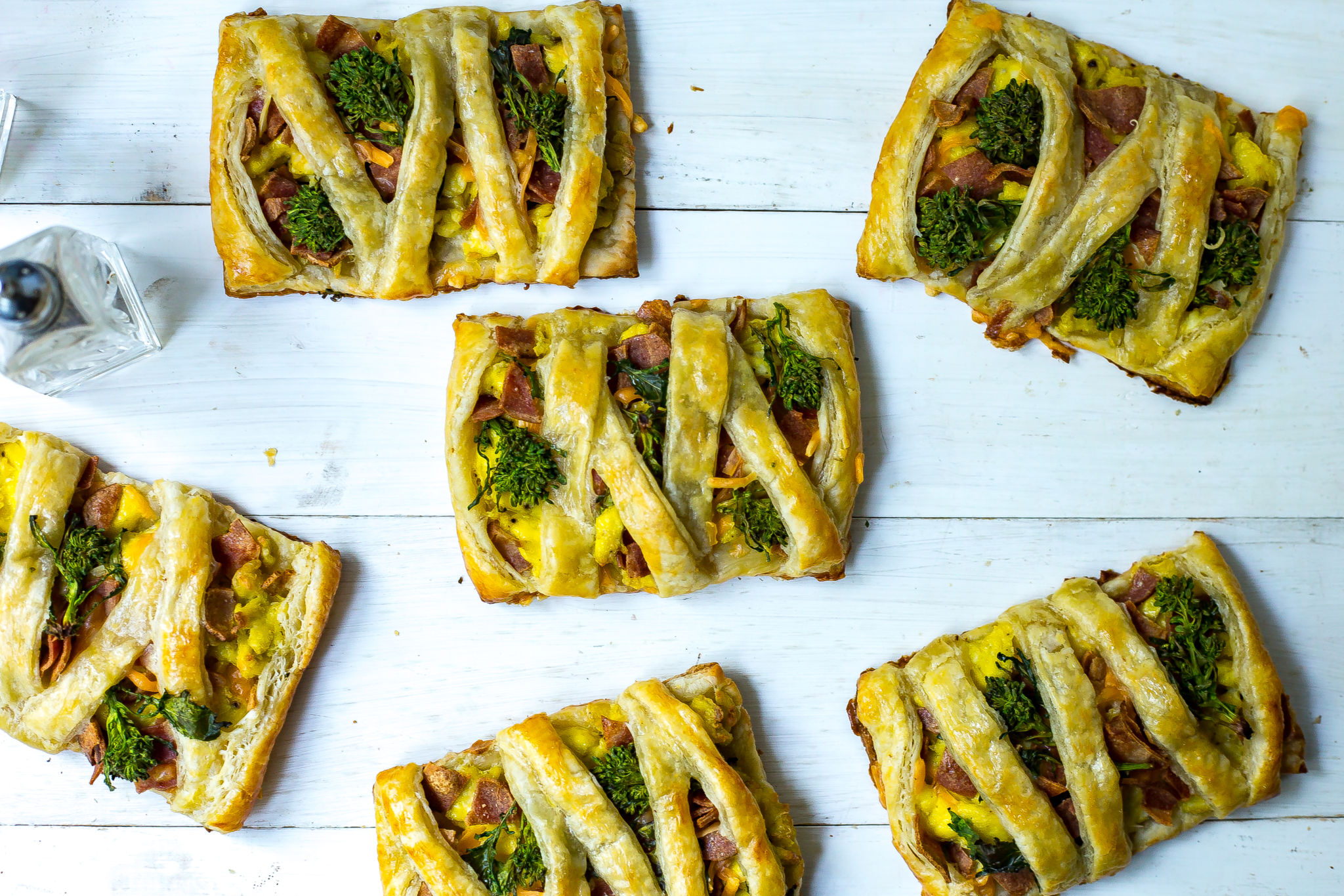 Savory Broccoli Rabe Breakfast Pastries