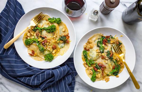 broccoli-rabe-wonton-wrapper-ravioli
