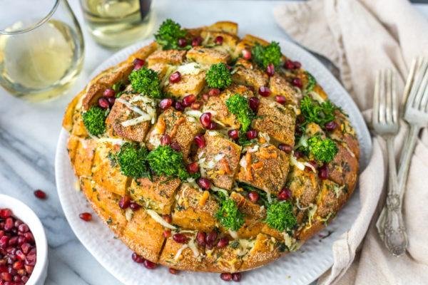 fennel-rapini-pull-apart-bread