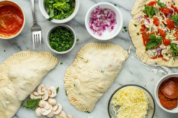 preparing-broccoli-rabe-pizza-pocket