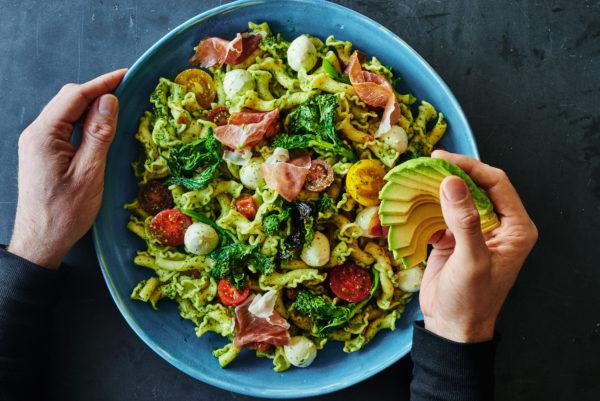 caprese-pasta-broccoli-rabe