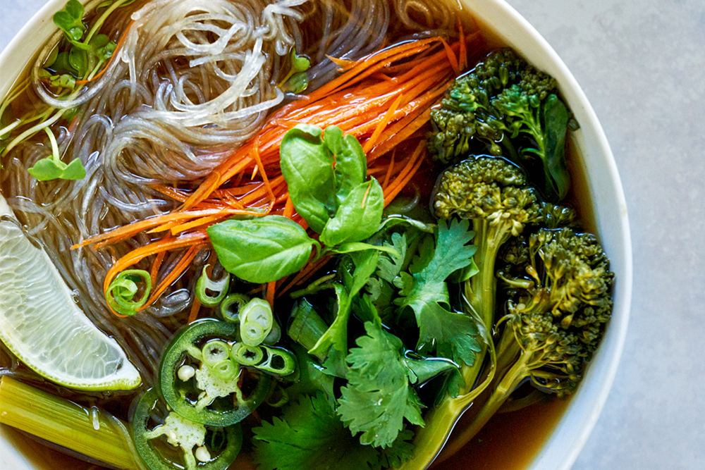 Sweet Baby Broccoli Pho