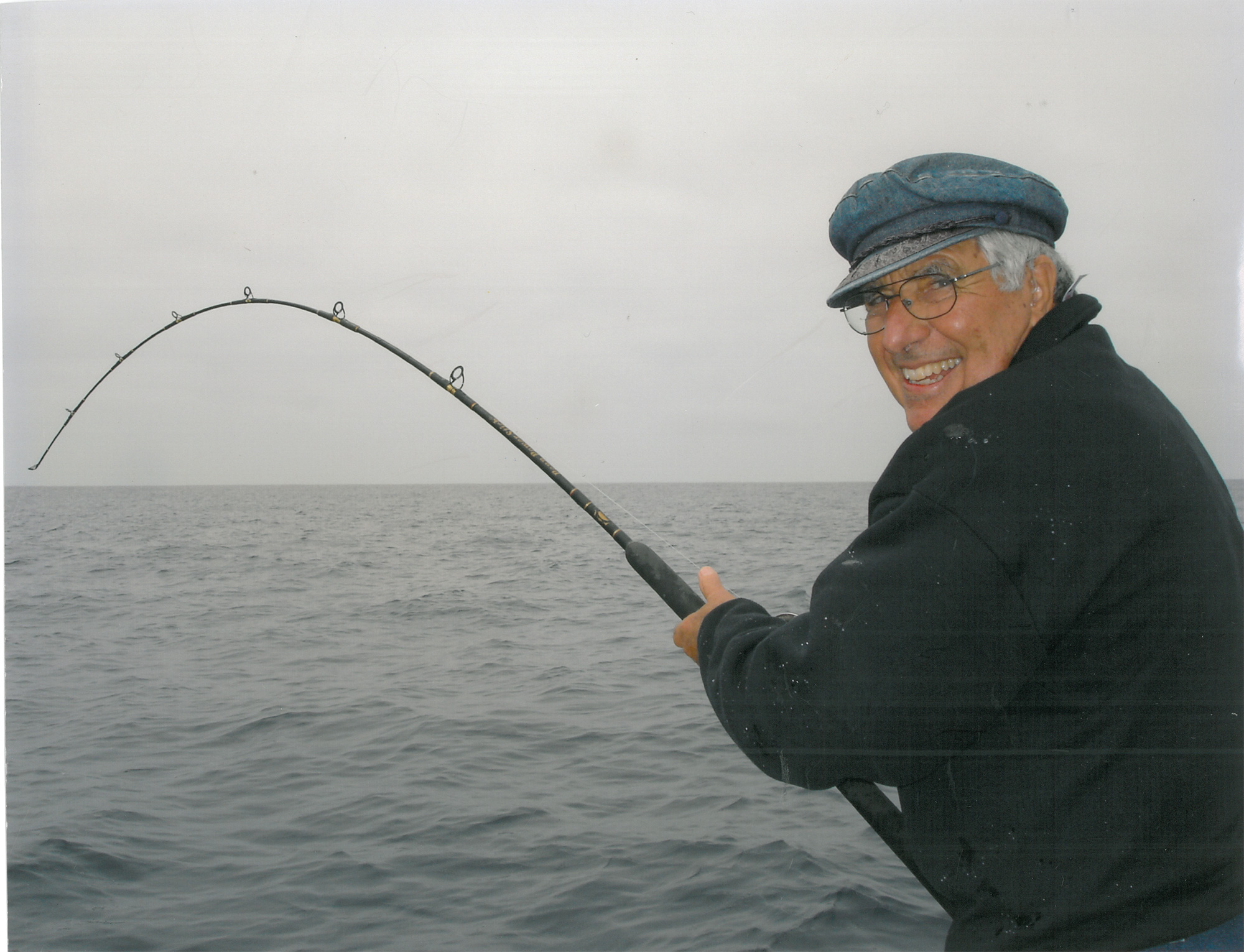 Andy loves to fish!